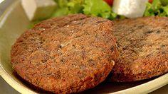 Este hambúrguer é simples e saudável!