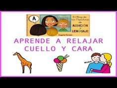 Aprende a relajar el cuello y la cara - YouTube Chico Yoga, Yoga For Kids, Videos, Spanish, Mindfulness, How To Plan, Comics, Children, Fictional Characters