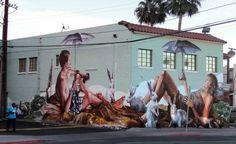 in Las Vegas - Street Art by Fintan Magee