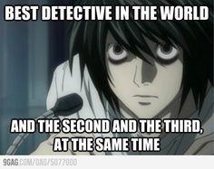 its true! i love L <3