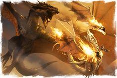 Maegor I Targaryen and Balerion kill Aegon Targaryen and Quicksilver in the Battle Beneath the Gods Eye.
