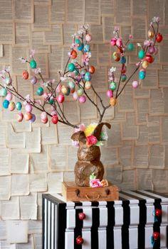 Glitter Egg Tree