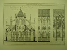 Hulst Church , Zeeland, Holland, EUR, 1883, J. H. P. Cuypers