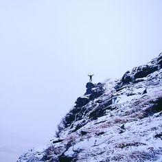 Those places where problems seems so tiny: I love'em. Mountains wild nature trekking motivation