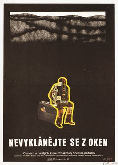 Movie Poster - Don't Lean Out the Window, Petr Hampl, 1976 | #collageposter #poster
