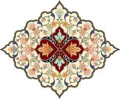 64-Floral Pattern (Khatai)