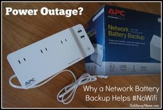 Change how power outages affect your family w/ a Back-UPS Connect. @TechSavvyMama has #NoWiFi http://bddy.me/1EsFQUe