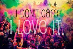 I love it.
