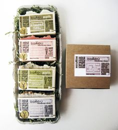 Bath Set Gift Soap FIVE Bars Cold Process ORGANIC by BambuEarth, $34.95