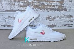 Nike Air Max Thea Made with Swarovski by CrystallizedKicks on Etsy