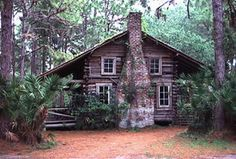 Large, private cabin in the woods. Oh yeah. <3