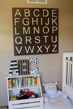Stunning wall decor from Pottery Barn Kids. #nursery