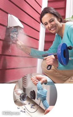 If you notice that it takes longer than normal for loads to dry in your clothes dryer, it may be time to clean out the vent. First detach the duct from behind the unit and then push a plumbing snake through your dryer vent from outside. Tie a rag securely to the snake end. Pull the cloth and snake through a couple of times and your clean vent will not only save energy but possibly prevent a fire as well.