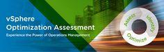 vSphere Optimization Assessment - http://vexpert.me/Y5