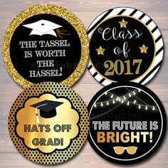 Printable graduation gift tags free pdf template to download and graduation cupcake toppers printable graduation party decor instant download high school senior graduation college negle Gallery