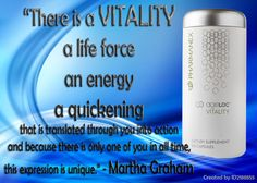 """""""There is a VITALITY, a life force, an energy, a quickening that is translated through you into action and because there is only one of you in all time, this expression is unique. Anti Aging For Men, Martha Graham, There Is Only One, Leadership Quotes, Goods And Services, Personal Development, All About Time, Success, Action"""