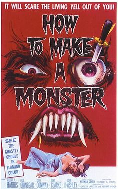 1958 How To Make a Monster (English)