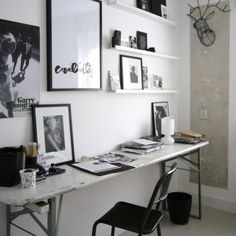 Small office space.
