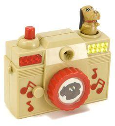 Vintage Pound Puppies Toy Camera