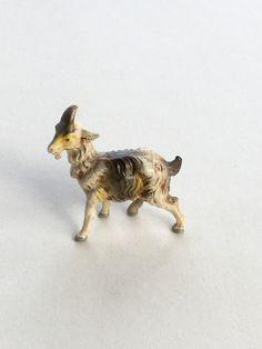 Goat Italy Farm Animal Antique Nativity Putz Toy by GardenBarn on Etsy https://www.etsy.com/listing/264266978/goat-italy-farm-animal-antique-nativity
