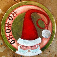 """Jodi Monahan Artistry on FB Page. 15"""" Hand Painted Lazy Susan https://www.facebook.com/pages/Jodi-Monahan-Artistry/111895475495265"""