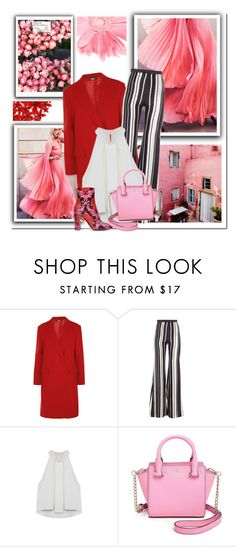 """""""polycool"""" by namelif1 ❤ liked on Polyvore featuring Dollhouse, DKNY, Balmain and Kate Spade"""