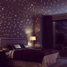 Ideas For Home:Glow in the dark stars.  It was beautiful.