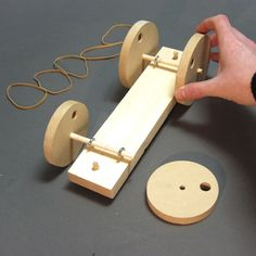 rubber band powered car diagram - Google Search