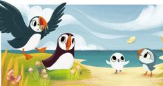 The Puffin Rock animated series