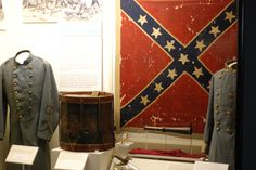 Battle flag of the 7th Virginia captured at Gettysburg 7/3/1863. Now resides at the MOC.