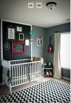 Cool baby room!