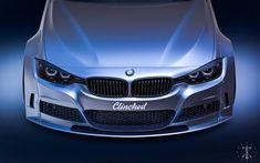 BMW F30 Cliched. Visualization, Kasim Tlibekov on ArtStation at https://www.artstation.com/artwork/1W8v3