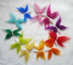 Wolvilt vlinders