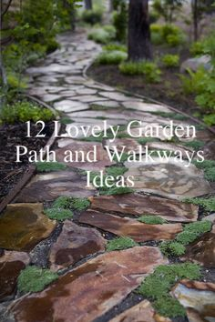 12 Lovely Path and Walkways Ideas For a Beautiful Garden - Paths and walkways can make or break a garden. Well-constructed, well thought out garden pathways can…