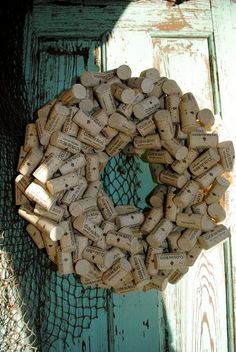 Show your love this holiday season with this specially made Clos du Bois cork wreath. http://www.etsy.com/listing/117086063/clos-du-bois-wine-fans-wreath?ref=pr_shop