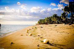 Flic en Flac beach Mauritius
