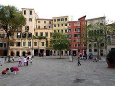 Campo del Ghetto Nuovo, Venetian Ghetto Cannaregio, Venice, 2012