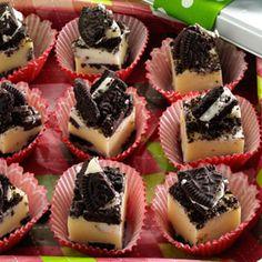 Cookies 'n' Cream Fudge Recipe from Taste of Home http://pinterest.com/taste_of_home/