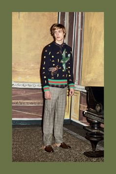GUCCI MEN'S PRE-FALL 2016 LOOKBOOK – DESIGNS FEVER