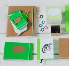 ikea green notebook