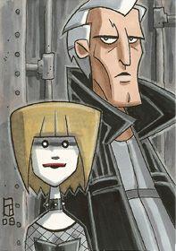 Roy and Pris by OtisFrampton