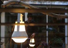 Ideas originales para iluminar la terraza: portátiles de exterior