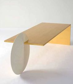 Patrick NaggarGold Borealis Coffee Table