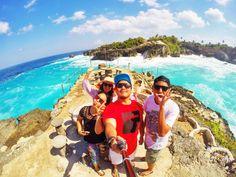Fun with my best team #bali #indonesia #relax #sunday #sunsine #wave #gopro #goproid #agustus #2014 #lembongan