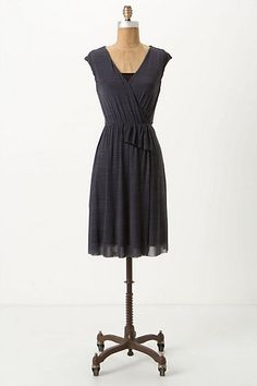 Blithe Stripes Dress #anthropologie-add a thin, brown belt, and brown wedges !!