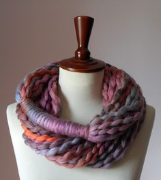 Simple and yarn. Scarves on the brain.
