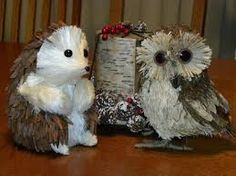 Image result for Pine Cone Hedgehog Ornaments