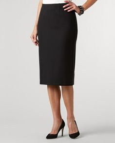 Ponte Holly skirt at Coldwater Creek