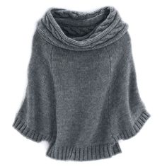 "Cape Sweater by Hayward. This is a ""light-as-air"" pullover! Fabulous! #sweater #pullover"