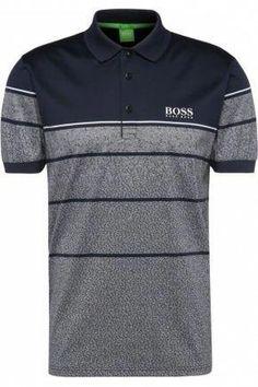 b921b348 Hombre Polos - HUGO BOSS Polo de golf a rayas regular fit en algodón puro: